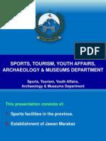 Presentation on Sports &Youthaffairs6713