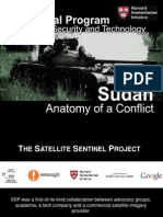 The Signal Program on Human Security and Technology. Sudan - Anatomy of a Conflict