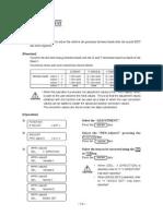 Alignment Procedure for JV3