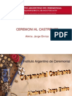 Ceremonial Castrense 2014