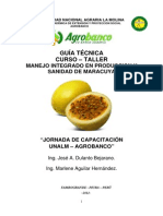 Manejo Integrado en Produccion y Sanidad de Maracuya