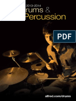 Alfred Percussion and Drums Catalog 2013
