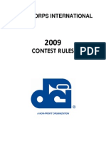 2009 Rulebook