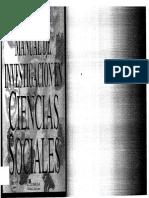 Manual de Investigacion en Ciencias Sociales Quivy Campenhoudt