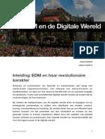 Inleiding - EDM en Haar Revolutionaire Karakter