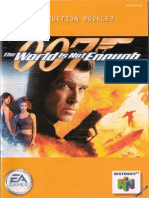 007 - The World is Not Enough (U)
