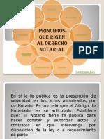 Principios Derecho Notarial