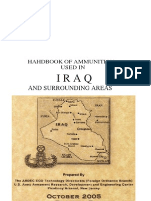 Handbook of Ammunition Used in Irak and Surrounding Areas