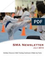 July '14 SMA Newsletter