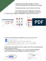 Tutorial Condivisione Google Docs