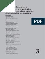 Protocolos de Atencion de Enfermeria a Pacientes Con Otras Terapias de Depuracion Extrarrenal