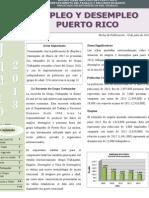 Empleo y Desempleo en Puerto Rico Junio 2013 Preliminar
