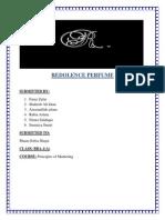 Redolence Perfume Report
