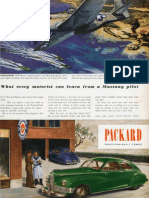 Packard Mustang pilot magazine advertisement