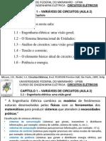 Aula 2 - Circuitos Elétricos - Capítulo 1 (1-2014)