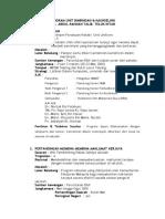 PROGRAM B&K laporan