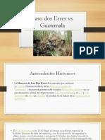 Diapositivas Del Caso de Las Dos Erres