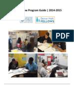 Math Fellow Program Guide