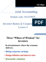 Lecture 9 - Financial Statement Analysis and Corporate Failure(1)
