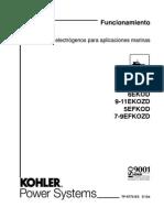 Kohler - Tp-6772-Es - Operation Manual, Spanish - 5-11 Ekod, Efkod, Ekozd, Efkozd
