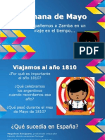 Semana de Mayo (Power Point)