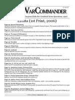 CWC Errata 2006