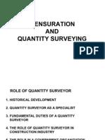 1. Mensuration & Quantity Survey