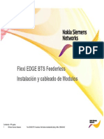 Microsoft PowerPoint - 1.Flexi EDGE BTS Module Installation&Cabling_spanish
