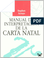 Arroyo Stephen - Manual de Interpretacion de La Carta Natal