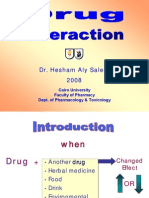 Drug interaction