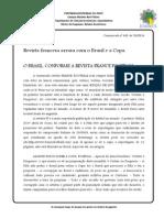 Com. 433 - Revista Francesa Arrasa Com o Brasil e a Copa - 23.05.14