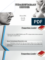 Ketidaksetaraan Gender