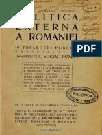 politica externa a romaniei