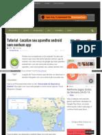 Eusouandroid Com Tutorial Localize Seu Aparelho Android Sem