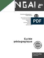 Venga ! 2de - 2 CD audio + 1 DVD - Ed.2010