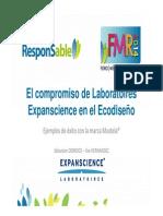El compromiso de Laboratoires Expanscience en el Ecodiseño