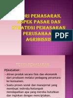 Teori Pemasaran Aspek Pasar Dan Strategi Pemasaran