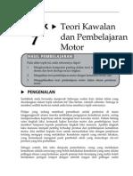 Topik 7 Teori Kawalan Dan Pembelajaran Motor