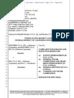Skechers USA v. Fila USA - Complaint