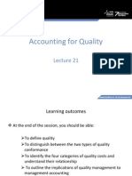 MA Lecture Week 21 - Quality