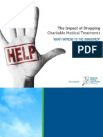 The Impact of Dropping Charitable Medical Treatments