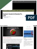 Eusouandroid Com Download Gravador de Chamadas Pro v3 66