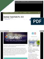 Eusouandroid Com Download Tunein Radio Pro v12 2