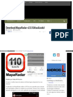 Eusouandroid Com Downloadmaparadar v2 0 1