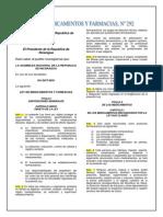 Ley 292 Ley de Medicamentos y Farmacia (1)