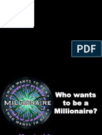 Who Wants to Be a Millionarie