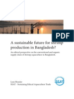 A Sustainable Future for Bangladeshi Shrimp