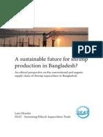 A Sustainable Future for Bangladeshi Shrimp