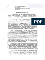 Proyecto Ley Inscripción Militar Obligatora NOV13003
