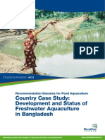 Development and Status of Freshwater Aquaculture in Banglades